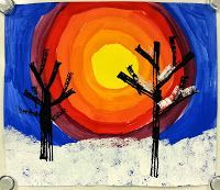 Art with Mrs. Nguyen: winter
