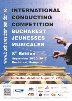 Applications open for 2017! http://www.bucharestcompetition.ro/en/ #jminetwork #conductors #music #competition