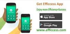 Efficcess is a full-featured and cross-platform personal information manager that can help you manage your life. With Efficcess you can keep track of #contacts, #appointments, tasks, to-do lists, and much more. The software also gives you space for keeping #notes, #diaries, and even #passwords. In order to be successful you need to be organized and efficient. With it all of the things are located in one, easy-to-use interface.Now the app is available in Google Play and App Store.