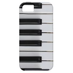 Piano key iPhone 5 cover