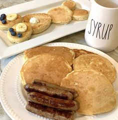Breakfast Of Champions, Recipe Of The Day, Sausage, French Toast, Bread, Meals, Food, Meal, Sausages