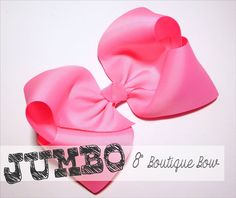 Gather your crafting supplies and join us for some fun on the blog! Jumbo 8 inch boutique hair bow!