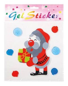 Personalized Christmas Window Stickers Vinyl adhesive sticker /static film. Reusable & Removable With colorful pattern nice for home decoration...
