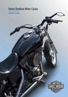 Harley Davidson @ theclassicpostercompany.com