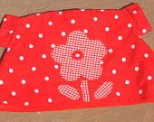 Spotty dotty outfit of smock top and skirt