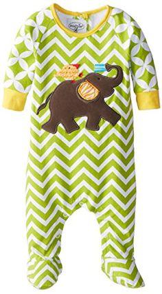 Mud Pie Unisex-Baby Newborn Safari Elephant Sleeper Footie, Multi, 0-6 Months Mud Pie http://www.amazon.com/dp/B006VCVAZU/ref=cm_sw_r_pi_dp_RyUGub1JJ403R