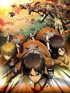 Ataque a los Titanes (anime) | Torre de Hechiceria