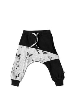 Brilliant sun Unisex Toddler Kids Elastic Waist Harem Pants Baby Casual Sport Jogger Pants