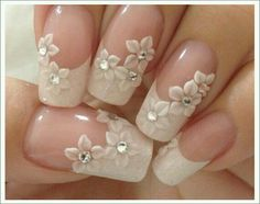 70 top bridal nails art designs for next year is part of Bride nails - 70 Top Bridal Nails Art Designs for next year Beautifulart Nailart Wedding Nails For Bride, Bride Nails, Wedding Nails Design, Wedding Ring, Wedding Manicure, Beach Wedding Nails, Wedding Hairs, Jamberry Wedding, Wedding Ceremony