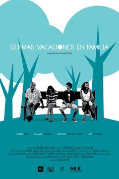 Poster de Ultimas vacaciones en familia con los protagonistas.