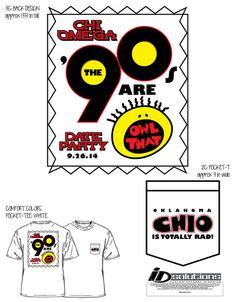 Oklahoma Chi Omega date party t-shirt #chio #tshirt #greek #90s #allthat #sorority