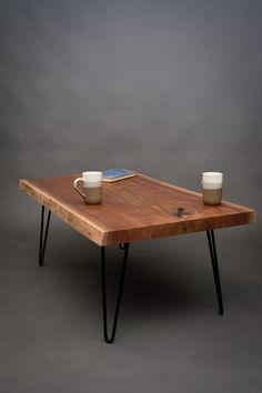 Live Edge Black Walnut COFFEE TABLE by ElpisWorks on Etsy, $645.00
