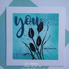 Distressed Patterns and True Friends stamp set by Stamps By Me  #stampsbyme #distressedpatterns #beglamorous #distressinks #flowers #cards #craft #creative #ilovetocraft