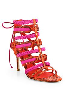 B+Brian+Atwood Felisa+Strappy+Sandals