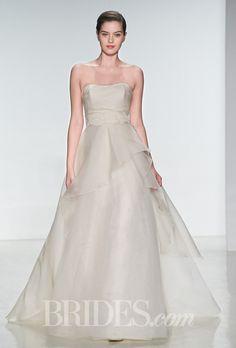 Brides: Amsale Wedding Dresses   Spring 2015   Bridal Runway Shows   Brides.com | Wedding Dresses Style