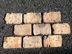 Chicago Antique Thin Brick Veneer, End Piece