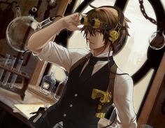 steampunk anime characters - Google Search