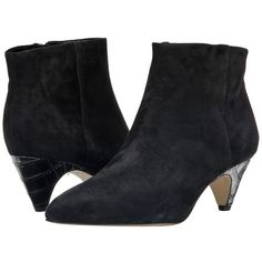 Sam Edelman Lucy Ankle Boot Women's Dress Boots ($120) ❤ liked on Polyvore