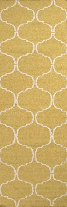 Jaipur UB22 Flat-Weave Geometric Pattern Wool Blue/Ivory Area Rug ...
