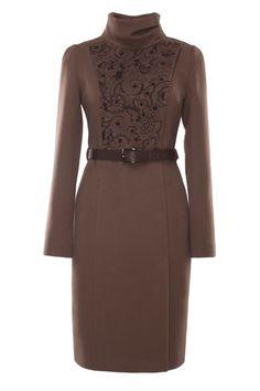 Пальто женское 60% шерсть, 30% полиамид, 10% кашемир, подклад - 100% полиэстер…