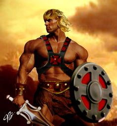 He-Man Dawn of Eternia by planetbryan on deviantART Fantasy Male, Fantasy Warrior, He Man Thundercats, Hee Man, Cult, Male Cosplay, Sci Fi Characters, Amazing Spiderman, Ghost Rider