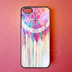 Iphone 5 Cases - Iphone 5 Covers - Colorful Dreamcatcher - Rubber Iphone Cases - Cute Girly Unique Designer Protective Cases for Iphone