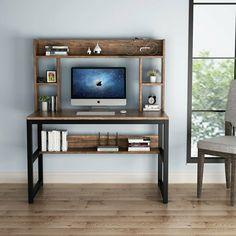 Office Desk With Hutch, Desk Hutch, Computer Desk With Hutch, Pc Desk, Gaming Desk, Corner Desk, Layout Design, Design Desk, Work Station Desk