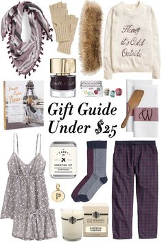 Holiday Shopping: Gift Ideas Under $25