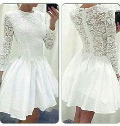 White Homecoming Dress,Short Prom Gown,Lace Homecoming Gowns,Ball Gown Party Dress,Homecoming Dresses,Short Prom Dress,Sweet 16 Dress