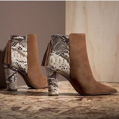 We ❤️ animal print!!! 😍👠 #shoes #boots #animalprint #cecconello