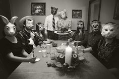 Creepy dinner idea- reminds me of House of 1000 Corpses.