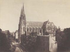 St. Clotilde Basilica by Édouard Baldus