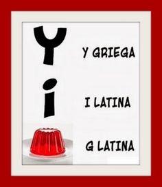 """Letras """"latinas""""... :P"""