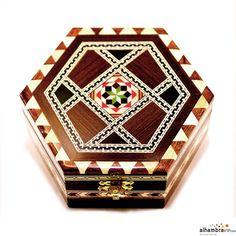 Joyero hexagonal 12 cm
