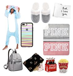 """""""#SLEEPOVER"""" by hannahsdisney on Polyvore featuring Victoria's Secret, Casetify and West Bend"""