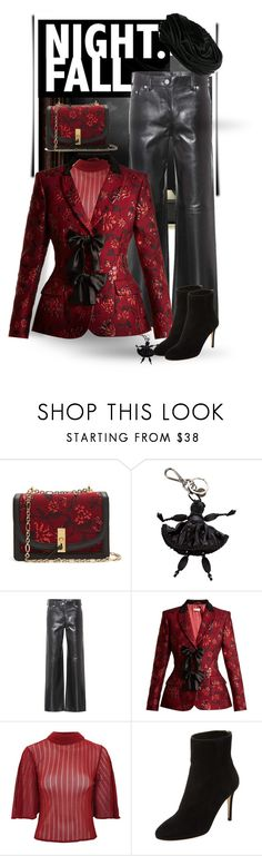 """""""Fall night life"""" by gagenna ❤ liked on Polyvore featuring Altuzarra, Prada, Calvin Klein 205W39NYC, Lace & Beads, Jimmy Choo, Christian Dior, contest, jimmychoo and chrstiandior"""