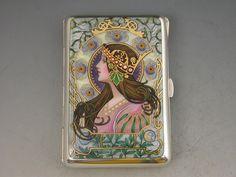 Steppes Hill Farm Antiques Ltd - German Silver & Enamel Art ...