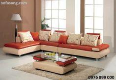 La mẫu sofa kiểu dáng độc đáo được thiết kế hướng đến những người yêu cuộc sống sôi nổi thích gam màu sặc sỡ, được thiết kế trên nền chất liệu da, phần đệm được rút lõm chia ô vuông đẹp mắt, tựa lưng dạng gối ôm với hoa văn cá tính http://www.sofasang.com/sofa-gia-re/sofa-gia-dinh-gia-re-nr-013.html