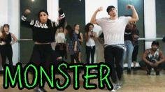 MONSTER - @MeekMill Dance Video | @MattSteffanina Choreography (ADV Hip ...