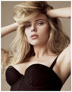 Scarlett Johansson photographed by Tom Munro