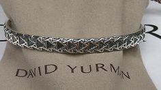 David Yurman - Frontier Cuff Bracelet - 925 Sterling Silver - New! - http://designerjewelrygalleria.com/david-yurman/david-yurman-frontier-cuff-bracelet-925-sterling-silver-new/