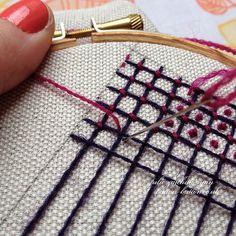 Crewel Filling Stitches - Sampler #6 | Flickr: partage de photos!