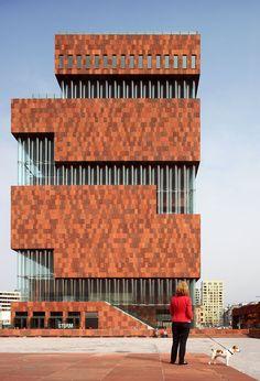 MAS Museum in Antwerp by Neutelings Riedijk | Yatzer