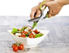 Cut delicate herbs quickly and evenly with these 5-blade herb scissors by Chefast. The 3-inch blades are made from premier-grade stainless steel that doesn't rust or dull easily. Learn how these Chefast herb scissors keep the delicate flavors of your herbs intact by clicking the image above.
