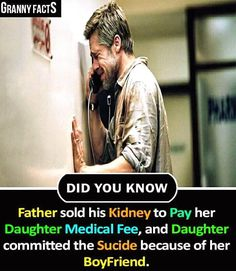 True fact of life - granny facts did you know father sold his kidney to pay Wow Facts, Real Facts, True Facts, Funny Facts, Weird Facts, Random Facts, General Knowledge Facts, Knowledge Quotes, True Quotes About Life