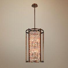 Karma Glass Beads Entryway Pendant Light -