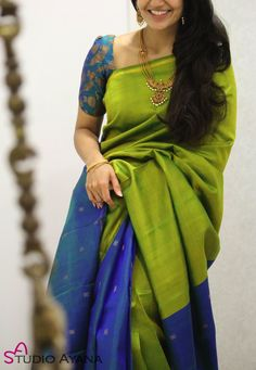 Wedding silk sarees online buy kanchipuram wedding sarees banarasi house of ayana Wedding Saree Blouse Designs, Pattu Saree Blouse Designs, Half Saree Designs, Blouse Designs Silk, Wedding Sarees, Pattern Blouses For Sarees, Designer Sarees Wedding, Designer Silk Sarees, Blouse Patterns