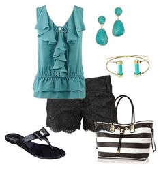 """""""Teal"""" by fiveplusfortyfashion ❤ liked on Polyvore"""
