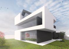 Entzuckend Hanghaus Satteldach Moderne Architektur By Http://www.flow Architektur.de/portfolio/architektenhaus Satteldach Bauen/  #Architektu2026