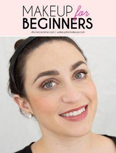 Great natural make-up for beginners # Natural makeup for beginners Natural Makeup For Teens, Natural Makeup Tips, Makeup Designs, Makeup Ideas, Makeup Tutorials, Makeup Tutorial For Beginners, Beginner Makeup, Makeup For Brown Eyes, Simple Makeup